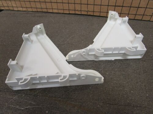 Left /& Right GE Washer End Cap Set White  WH42X10710  **30 DAY WARRANTY