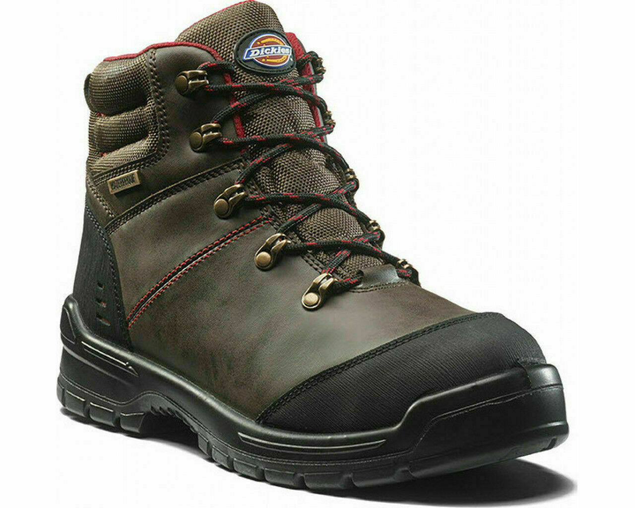 Dickies Cameron Mens Brown Safety Boots Composite Toe Safety Boots