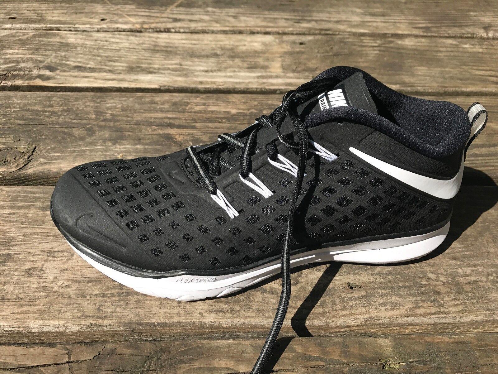 Nike uomini treno veloce delle scarpe taglia 11 nuovi 844406-017 formazione