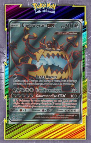 Engloutyran GX 105//111 Carte Pokemon Neuve Française SL04:Invasion Carmin