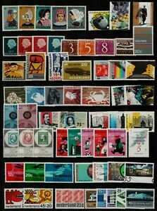 Netherlands-1965-87-range-of-complete-commemorative-sets-and-singles-with-Stamps