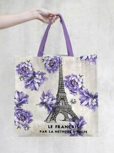 Details about TokyoMilk Tote Bag - French Kiss Market Tote