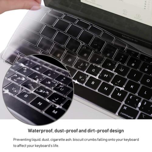 MacBook Air 2018 Clear Keyboard Cover 13 inch A1932 w// Retina Display Touch ID