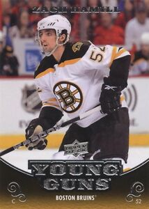 2010-11-UD-Young-Guns-Rookie-Card-206-Zach-Hamill-FREE-SHIPPING