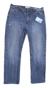 Marks-amp-Spencer-Mens-Blue-Denim-Jeans-Size-W36-L31