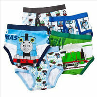 Thomas The Tank Engine - 5 Pairs Underwear/briefs Sizes 4 Or 6 Usa