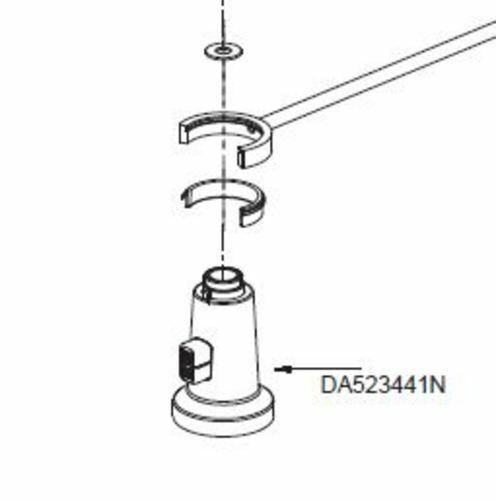 Danze DA523441N Chrome Pre-Rinse Spray Head