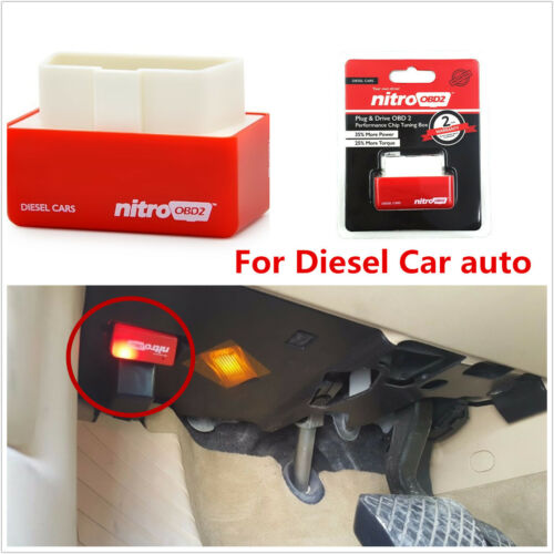 Car OBD2 Performance Chip Tuning Box Fuel Saver Interface Plug/&Drive For Diesel.