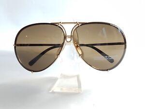bed30181be37 New Porsche Design Sunglasses P8478 A Gold Brown Lenses Size 69 ...