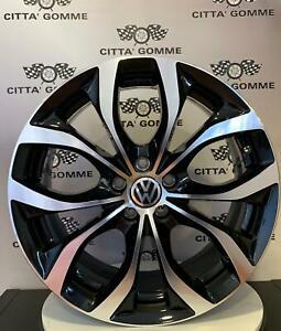 Cerchi-in-lega-Volkswagen-Golf-5-6-7-Tiguan-T-roc-da-17-034-Nuovi-Offerta-SUPER-EMG
