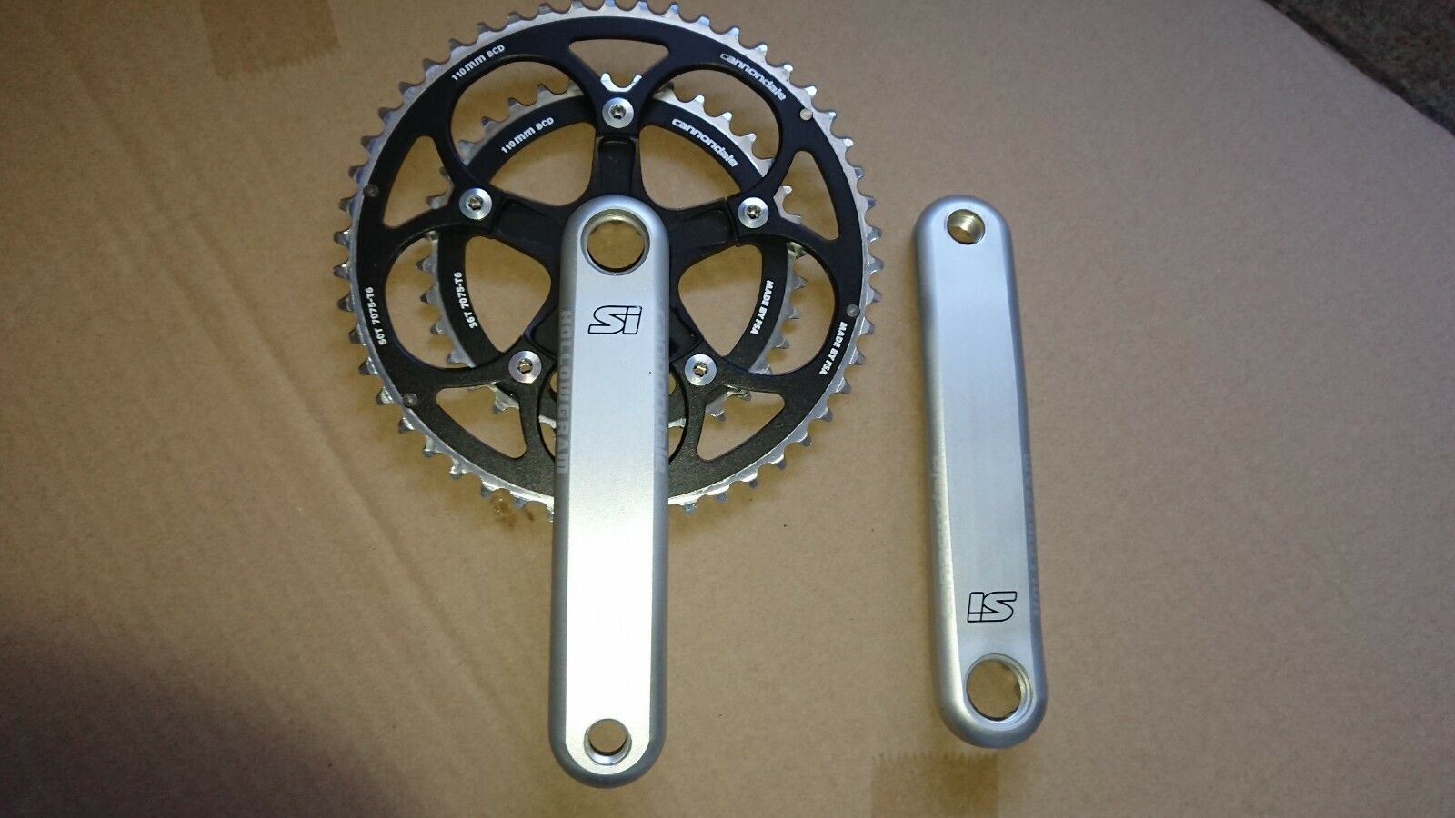 Cannondale Hollowgram Compact Chainset - Brand New.