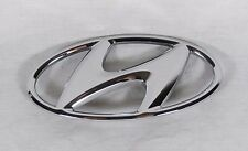 HYUNDAI ELANTRA TRUNK EMBLEM 11-16 BACK OEM CHROME H BADGE sign symbol logo