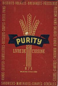 CANADA-1945-FRENCH-RECIPE-HC-COOKBOOK-PURITY-LIVRE-DE-CUISINE-875-RECETTES
