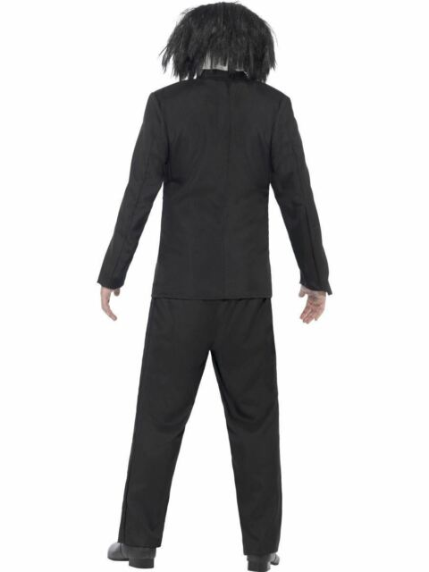 Saw Jigsaw Mens Halloween Party Fancy Dress Costume Outfit Adult Movie Licensed