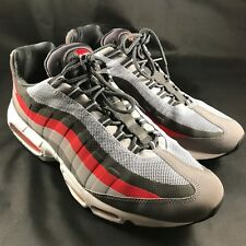 item 8 Men s sz 13 Nike Air Max 95 No Sew Dark Gray Challenge Red  616190-0006 Restored -Men s sz 13 Nike Air Max 95 No Sew Dark Gray  Challenge Red ... d22f6ef82
