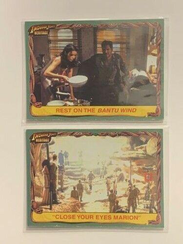 #39 LTD 500 Indiana Jones Heritage White Back Parallel Base Card