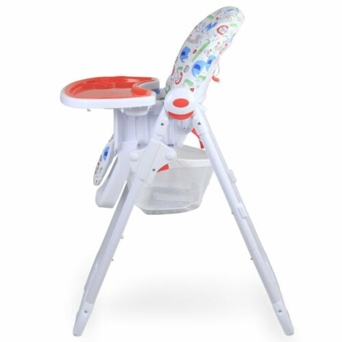 Serengetti Recline With Double Tray /& Storage Basket iSafe MAMA Highchair