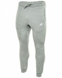 76117f3cd465 Nike Nsw Fleece Club Jogger Pants Mens 804408-063 Grey Cuff ...