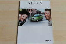 85611) Opel Agila Prospekt 09/2000