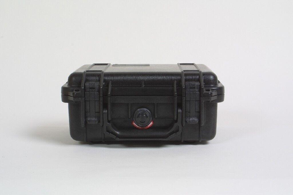 Peli Box Schaumeinsatz Pelibox Pelicase '1200' schwarz, mit Schaumeinsatz Box 833d4e