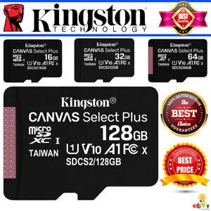 Kingston-Micro-SD-Card-16gb-32gb-64gb-128gb-Class10-Brand-New-TF-Memory-Card