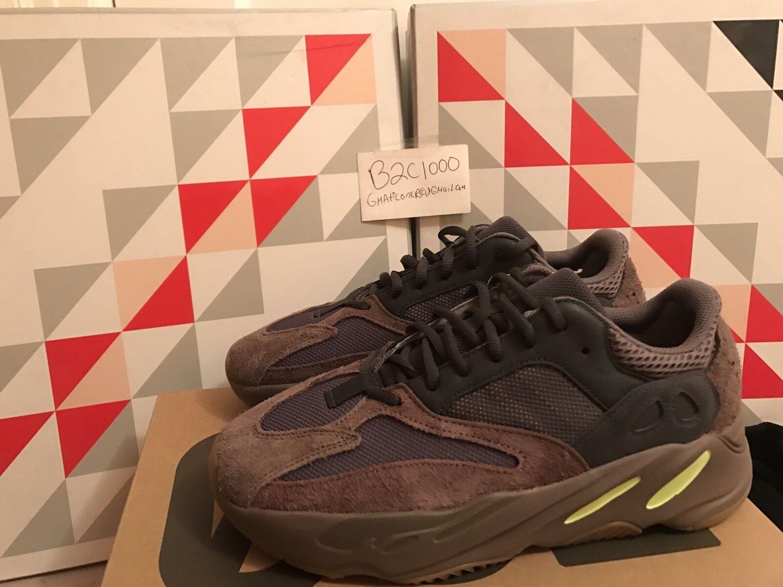 Adidas Adidas Adidas Yeezy Boost 700 Mauve Wave Runner Size 10 New Nib 350 500 6537b5