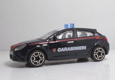 "Bburago 30310 Alfa Romeo STELVIO /""CARABINIERI/"" METAL Scala 1:43"