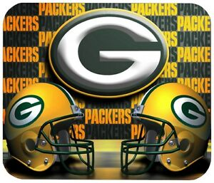 cb84ecdf07db2 GREEN BAY PACKERS MOUSE PAD 1 4 IN. SPORTS FOOTBALL NFL MOUSEPAD