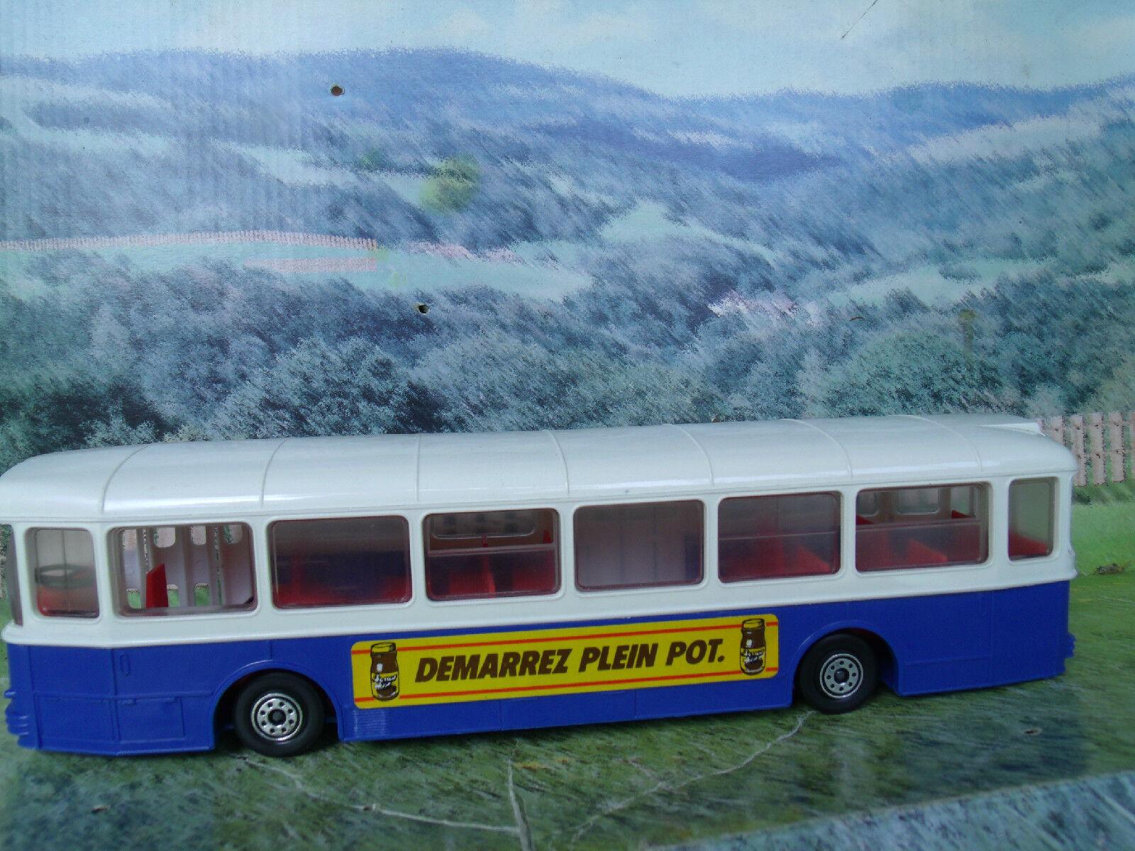 1 43 Norev (Francia) autobus Saviem sc10u modelo plástico Vintage