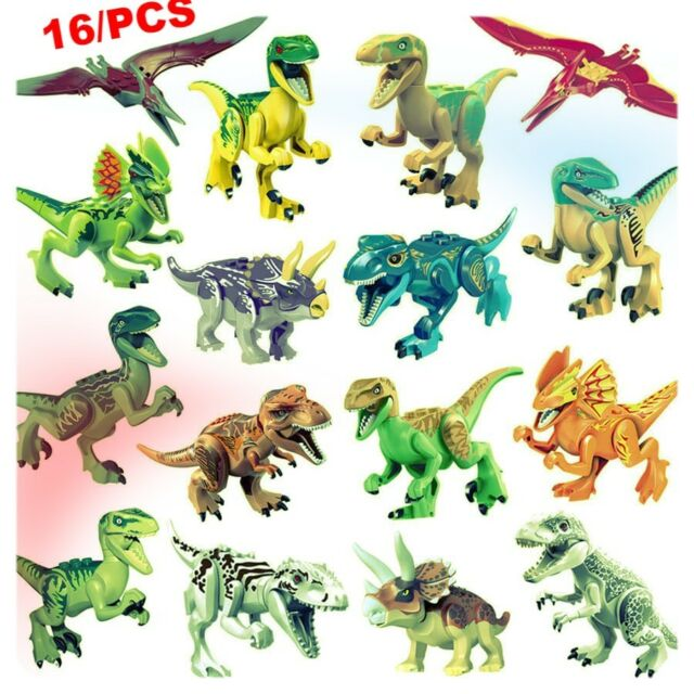 ~ LEGO Jurassic Dinosaurs ~ 14 to choose from *BRAND NEW* Custom LEGOS!! HUGE
