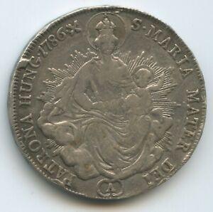 Mit Öse ZuverläSsige Leistung G5466 Rdr Österreich Ungarn 1/2 Taler 1786 A Km#399 Silber Joseph Ii