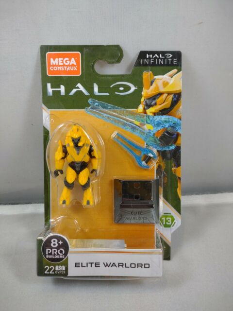 MEGA GVP39 Construx Halo Elite General - Yellow