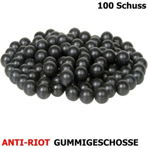Anti-riot Gummigeschosse Abwehrgeschosse Cal 68-100 Coup