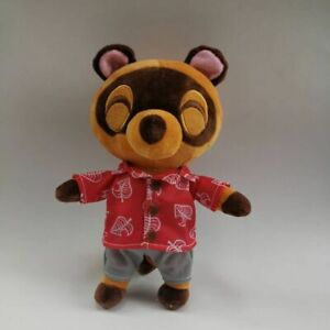 "Animal Crossing New Horizons Tom Nook 9.5/"" Plush Toy Stuffed Doll Limited Gifts"