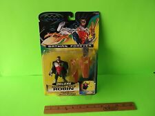 "Batman Forever Deluxe Martial Arts Robin 5""in Figure w?Ninja Kicking Action"