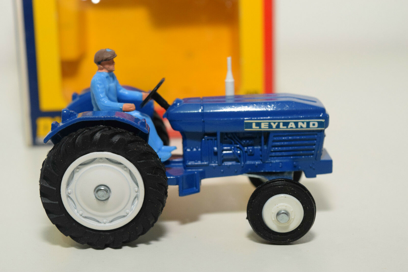 DINKY TOYS 308 LEYLAND 384 TRACTOR blueE MINT MINT MINT BOXED RARE SELTEN RARO 7177fe