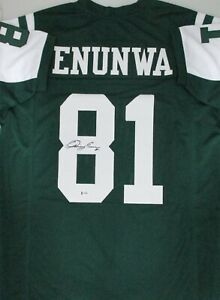 half off 2b525 a2820 Details about NY Jets QUINCY ENUNWA Signed Custom Replica Jersey AUTO -  Nebraska - Beckett