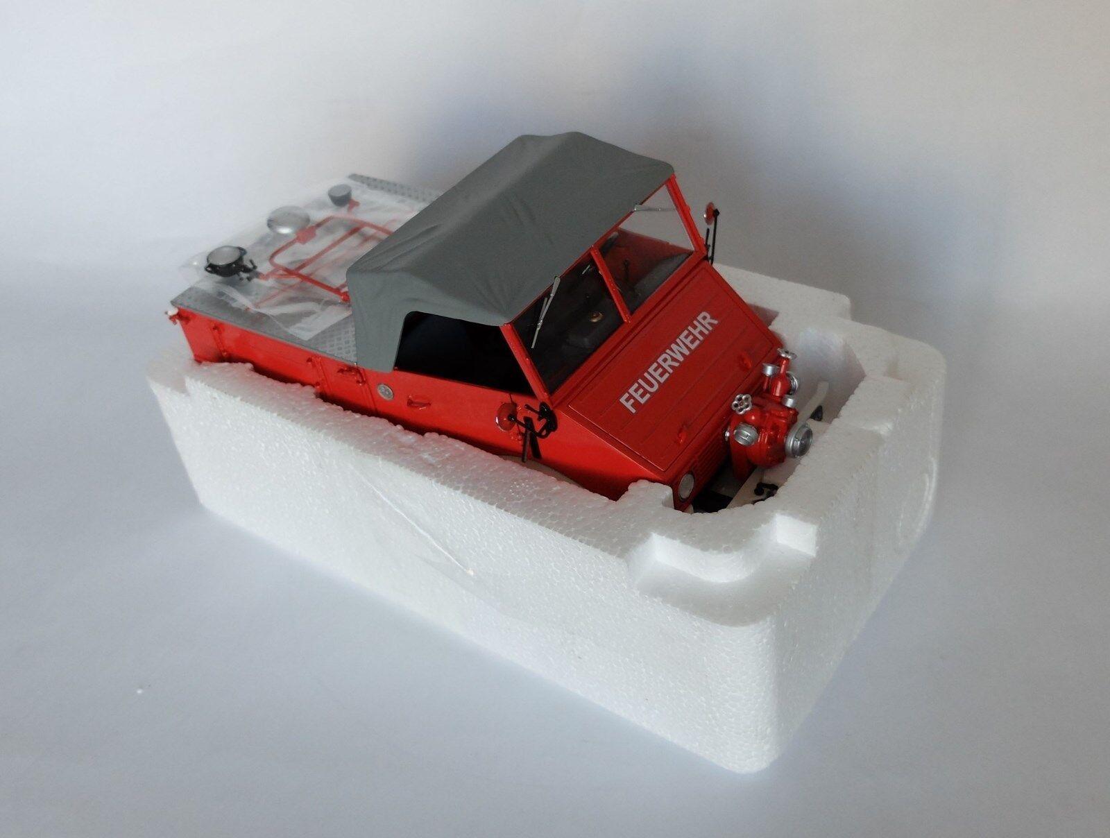 Schuco 1 18 - Unimog 401 bomberos
