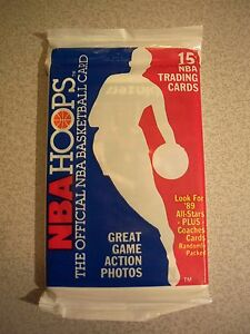 1989-90-Hoops-Series-One-Sealed-Pack-Jordan-Bird-Pippen-Johnson-Robinson-Rookie