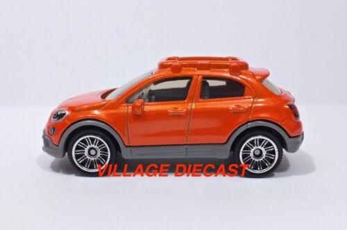2018 Matchbox #12 /'16 Fiat 500X SPITFIRE ORANGE MINT