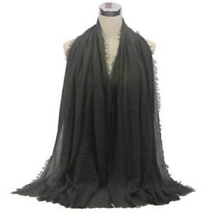 Fashion Women Pashmina Stole Hijab Scarf Maxi Headscarf Large Scarves Wrap Ebay