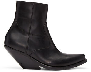 VETEMENTS-Cowboy-Ankle-Boots-Brand-New-Multiple-Sizes