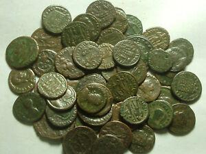 Lot genuine Ancient Roman coins Constantine/Valens/Constantius/Licinius/Constans