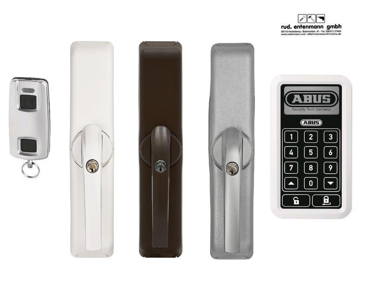 Abus Home Tec Pro Funk Terrassentür Antrieb Funktastatur weiß silber br FCA 3000  | Neuheit Spielzeug  | Verwendet in der Haltbarkeit  | Good Design  | Vorzüglich