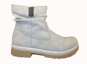 Rieker Boot grau Y9462 41 | eBay qTp6l