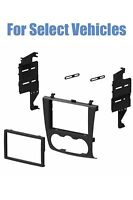 Double Din Stereo Radio Install Dash Trim Mount Car Kit For Select 07-12 Altima