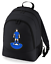 Football-TEAM-KIT-COLOURS-Leicester-Supporter-unisex-backpack-rucksack-bag miniatuur 1