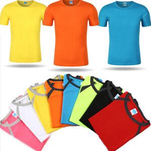 Men-Women-Quick-Dry-T-Shirt-Training-Workout-Gym-Jersey-Short-Sleeve-Tee-Tops