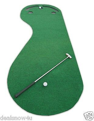Par Three Putting Green 3 x 9 ft Synthetic Turf Artificial Grass Aid Great w NEW