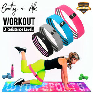 Resistance Bands Hip Circle Fitness Loop Elastic Booty Legs Exercise Glutes Home